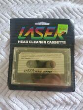 Laser Head Cleaner Cassette Tape Vintage 80s Swire Magnetics Hong Kong NOS!