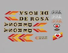 ROSA Calcamonías para bicicleta, Transfers, ADHESIVOS N.15