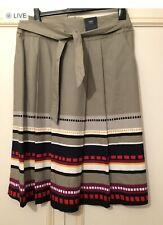 M&S Green Mix Skirt Size 14