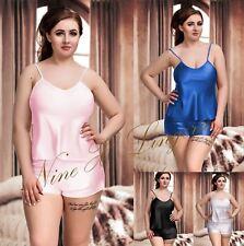 Nine X Sexy Satin Cami Set Plus Size Lingerie S-6XL 8-24 Pyjama Set Babydoll