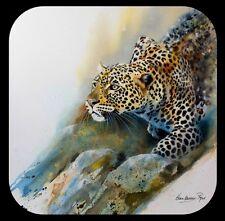 Country Matters Safari Coaster Karen Lawrence Rowe Artwork with Saving Rhinos