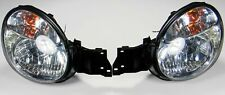 JDM SUBARU IMPREZA HEADLIGHTS CHROME HOUSING BUGEYE GDA GGA 2002-2003 V7 WRX STI