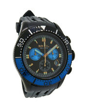 Breil Milano BW0407 Manta Men's Black Analog Black Chronograph Date Resin Watch