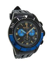 Breil Milano BW0407 Manta Men's Black Analog Black Chronograph Date Resin Watch