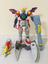 Bandai Mobile Suit Gundam Wing Zero MSIA Action Figure Yellow w/ wing boosters