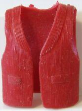 Marx Johnny West Vest Coat Red Rare! Christmas??