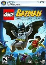 LEGO Batman: The Videogame (PC DVD, 2008) Free Shipping!