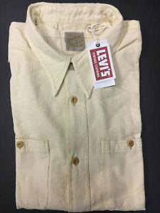 Levi's Vintage Clothing LVC Deluxe  Shirt Creme Levis Vintage Clothing Levi $195