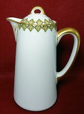 """HAVILAND china THE MONACO Schleiger 295 2-Cup Chocolate Pot - 6-1/4"""""""
