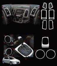 Auto Clover Chrome Interior Styling Trim Set for Hyundai i30 2007 - 2011