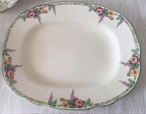 Vintage Antique Wedgwood Sandon Serving Plate Platter 1930's