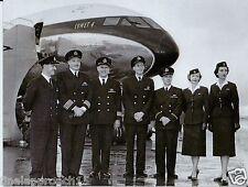 Boac Comet 4 Crew First Flight Lon-Nyc Fridge Magnet - 5.5x4 Print