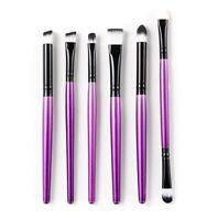 6 pcs Makeup Brushes Foundation Eye shadow Eyeliner Eye Brushes Cosmetic Tool