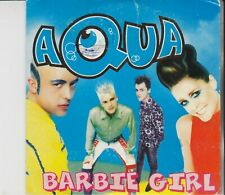 AQUA Barbie Girl 2 TRACK CARDSLEEVE CD SINGLE