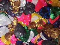 100 Celluloid Thin Guitar Picks Lot of 100 Guitar Picks USA Seller Fast Shipping