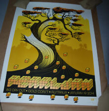 Pearl Jam Big Day Out VARIANT POSTER Gold Coast Ames Bros Print Signed Numbered