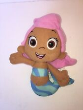 """Fisher Price Bubble Guppies 8"""" Molly Mermaid Pink Hair Plush Stuffed Toy"""
