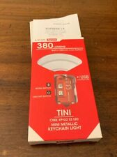 Supreme FW19 Nitecore Tini Keychain Light RED (IN HAND) AUTHENTIC FAST SHIPPING