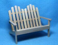 "BESPAQ MINIATURE /""REINA/"" SWEDISH SEAT BENCH DESIGNED BY MARITZA MORAN MM025-NWN"