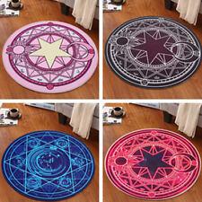 Card Captor Sakura Magic Figure Printed Floor Mat Round Rug Door Room Carpet Mat