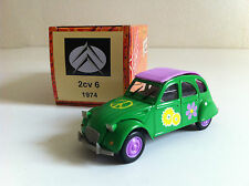 "Norev - Citroën 2 CV 6 1974 ""Peace and love"" (1/43)"