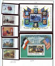 Burkina Faso outstanding group of 5 Stamps & 5 Souvenir Sheets - MNH - CV=$35.15