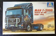 Italeri 741 MAN F-2000 Model Truck Kit 1/24 Scale