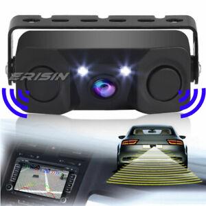 170º Rear View Camera Car Auto Reverse Parking Radar with Parking Sensor 568THB