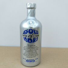 Absolut Vodka Chrome Country of Sweden 40% Alkohol Sweden