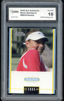 2005 Maria Sharapova Ace Authentic Tennis Rookie  Gem Mint 10 #MS34