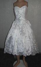 NEU Brautkleid Gr.38  vorne kurz/hinten lang+Handschuhe+KopfschuckTasche+Stola*