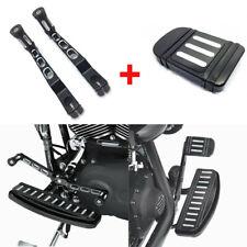 Black Brake Pedal+Heel Toe Shift Lever&Shifter Pegs for Harley Touring FLH Trike