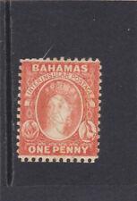 Bahamas Victoria the 1 d Sc # 24 S G # 40 perf. 12 revenue cancel Very Fine
