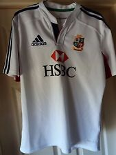 British and Irish Lions Australia 2013 Rugby Shirt Jersey Adidas HSBC  size M