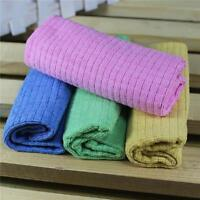 4Pcs Absorbent Microfiber Towel Car Home Kitchen Washing Clean Wash Cloth FM