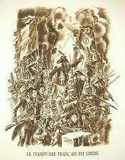 Napoleon Bonaparte Armee d'Italie Rede von der 6 Juni 1800 ein Macbeth 1952 52cm