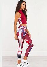 Genuine ADIDAS Originals Rita Ora Paint By Numbers Leggings Size 10 BNWT