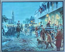 """Charleston- Autumn 1861"" Mort Kunstler Civil War"