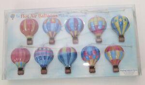 2008 Schylling Collectors Series Tin Hot Air Balloon Mobile