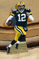 "Aaron Rogers Green Bay Packers Quarterback NFL Tabletop Display Standee 10"" Tall"