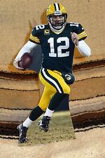 "Aaron Rogers Green Bay Packers Quarterback NFL Tabletop Display Standee 10"" Tall"