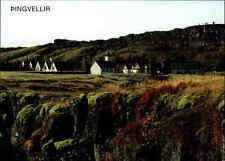 Dorf Village Pingvellir Insel Island of ISLAND Iceland Postkarte Postcard