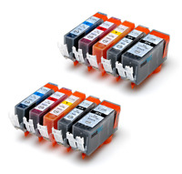 10PK INK PGI-220 CLI-221 for Canon IP3600 IP4600 IP4700 MP560 MP620 MP640
