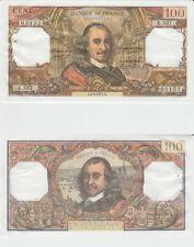 Gertbrolen 100 FRANCS CORNEILLE du 1-4-1971  E.537 Billet N° 1340405152