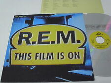 R.E.M. This Film Is On - LASER DISC Japan LD + Japanese insert