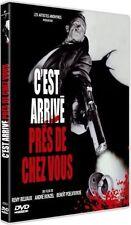 DVD NEUF C'est Arrivé près de Chez Vous BENOIT POELVOORDE Port gratuit dès 30€