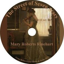 The Street of Seven Stars, Mary Roberts Rinehart Classic Audiobook on 1 MP3 CD