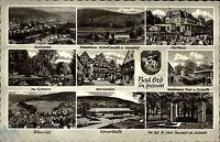 Bad Orb Spessart Mehrbildkarte 1964 Kurviertel Konzerthalle Gradierwerk Kurhaus