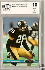 1991 STADIUM  CLUB BCCG 10 ROD WOODSON