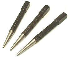 Nail Punch Set -  1.6mm, 2.4mm,3.2mm 3pc set